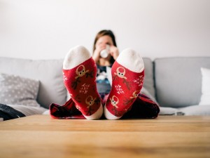 Why are holiday socks always the warmest?